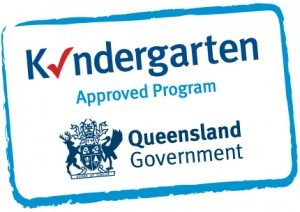 kindergarten approved program sticker